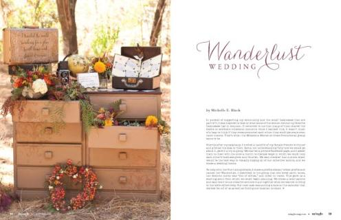 Wanderlust Wedding