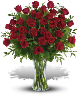 Extravagant Love - 3 Dozen Red Roses
