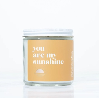 You Are My Sunshine Soy Candle
