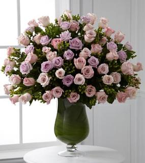 Luxurious Pink & Lavender Rose Bouquet
